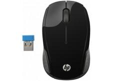 HP 200 BLACK belaidė pelė